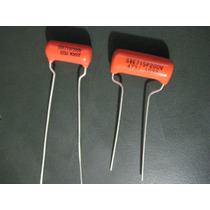 Capacitor Orange Drop