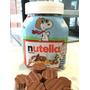 Candy Bar. Bombon Nutella Chocolate Cobertura Leche Fenix.