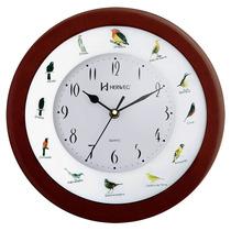 Relógio Parede 30cm Canto De Passaros Brasileiros 6370