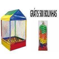 Piscina De Bolinhas 1,10m Gratis 500 Bolinhas E Frete Gratis