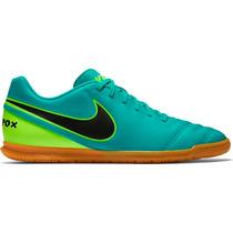 Tenis Chuteira Futsal Nike Tiempo Rio 3 100% Original