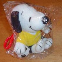 Snoopy Llavero Con Balon De Futbol Y Jersey