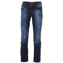 Calça Jeans Slim Fit Masculina Via Quatro