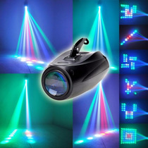 Combo Fiesta Flash Led + Efecto Small Rgbw + Derby Dj Fiesta