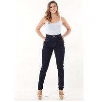 Calça Jeans Skinny Hot Pants Cintura Alta Handara Promoção