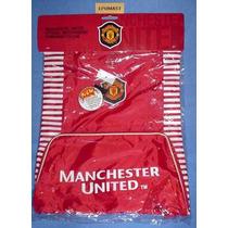 Morral Del Manchester United ((rojo C/bolsa Frontal))