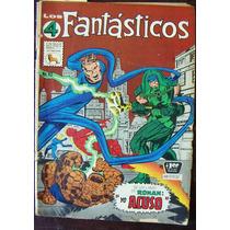 Historieta, Los 4 Fantasticos N°92 Editorial La Prensa