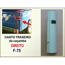 Canto Traseiro Caçamba F-75 Pick Up Willys Ford Chapa Direit