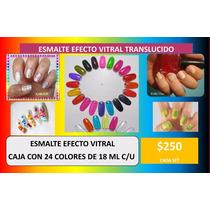 Esmalte Efecto Vitral Uñas