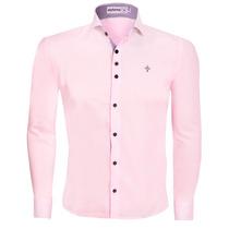 Camisa Camisas Social Masculina Slim Promoção