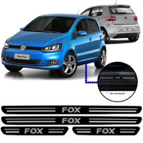 Jogo Soleira Resinada Volkswagen Fox 4 Portas 2016/...
