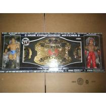 Wwe Batista Vs Rey Mysterio Cinturon Campeonato (no Mattel)
