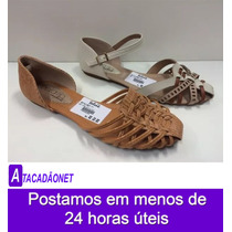 Sandalia Rasteira Beira Rio Conforto Feminina 47842