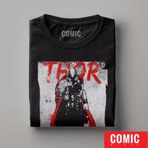 Camiseta Thor Filmes Super Herois Dc Comics Marvel Cod15426