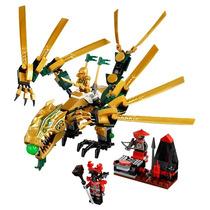 Lego Ninjago El Dragón Dorado Original 70503