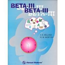 Beta Iii Editorial El Manual Moderno S.a.de C.v.,nuevas Orig