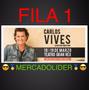 Entradas Carlos Vives Fila 1 Y 2 Mercadolider Compra Seguro