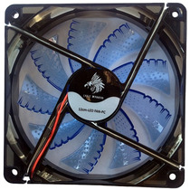 Ventilador Eagle Warrior 120mm Azul Rtriluminado Lote 10 Pza