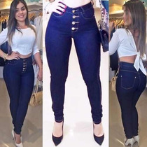 Kit 10 Calça Jeans Cintura Alta Hot Pants Atacado Lote