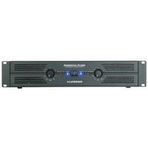 Vlp2500 Amplificador Profesional American Audio Vlp-2500