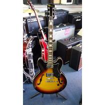 Guitarra Eléctrica Texas E60 Tipo 335 Color Sb
