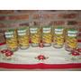 6 Vasos De Vidrio Hecho Con Botella Vodka Absolut Mango.