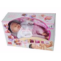 Boneca Cotiplas Bebe 55cm + Brinde Lançamento Promoção