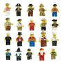 Lego Figuras / Set De 20 Figuras Diferentes