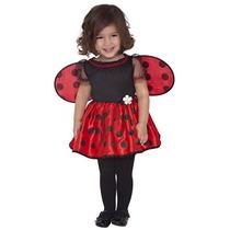Disfraz Para Niña El Pequeño Traje De Halloween Mariquita