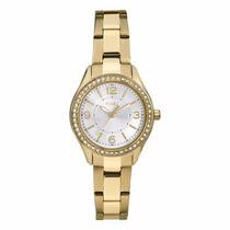 Reloj Timex Tw2p80100 Dorado Dama 100% Original Envío Gratis