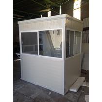 Caseta De Vigilancia De 1.50 X 2.00m, Fabricada En Panel