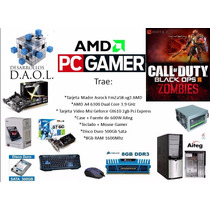 Pc Gamer Amd Placa Hd + Con 8gb Ram + 500gb Dd + 2gb Tvideo