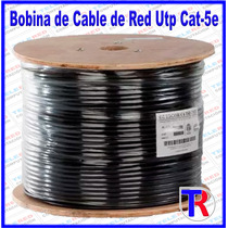 Cable De Red Utp Cat 5e Para Interperie Outdoor 305 Metros