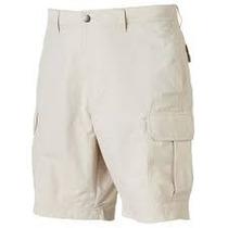 Shorts Bolsas Cargo Cintura Expandible Tallas Extras 40-42