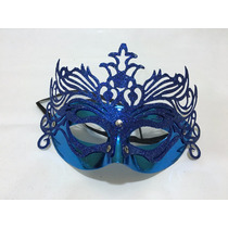Antifaz Veneciano Brillante Mascara X 10 Unidades Cotillon