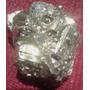 Mineral Roca Cristal Pirita Sulfuro De Hierro 3 X 2.5 Cm