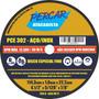 Disco De Corte Fino Inox 7 X 1,6mm Esmerilhadeira C/ 30 Pçs