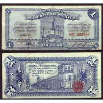 Si-mex-12 Billete De Edo De Mexico De 1 Peso