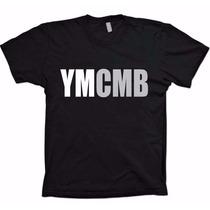 Camiseta Young Money Cash Money Records - Ymcmb 100% Algodão