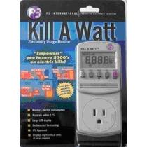 Kill A Watt Monitor De Consumo Ahorra Electricidad Wsl