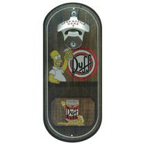 Abridor De Garrafas Duff Beer Homer Simpson Oval Em Mdf
