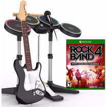 Rock Band 4 Guitarra - Bateria Pack Xbox One Blakhelmet Sp