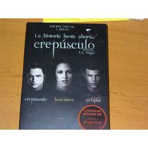 Crepúsculo, Luna Nueva, Eclipse - Set Box 3dvd + Poster Lbf