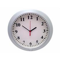 Reloj De Pared Espia Wifi Ip Video Fotos Hd Con Microfono