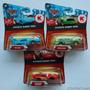 Cars Disney Pixar 3 Carros Rayo Mcqueen El Rey Chick Hicks