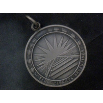 Medalla Ferrocarriles Argentinos 1971 De Alpaca