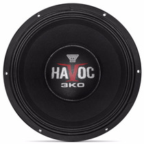 Woofer Oversound Havoc 12-3k0 12 Polegadas 1500w Rms 4 Ohms