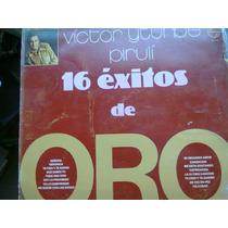 Disco Acetato De Victor Yturbe Piruli 16 Exitos De Oro