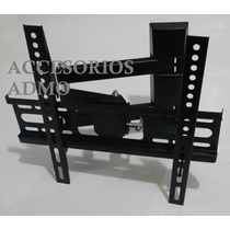 Soporte Brazo Movible Pantalla Tv Plasma Lcd Pared 14 A 37