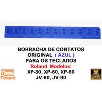 Borracha Azul Nova Original P/ Teclado Roland Jv90, Jv80